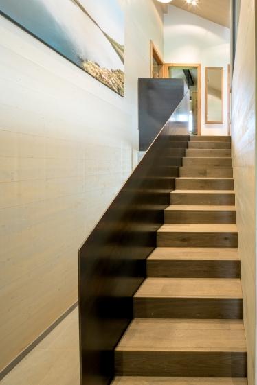 Treppe Interior Design modern Innenarchitektur Hotel