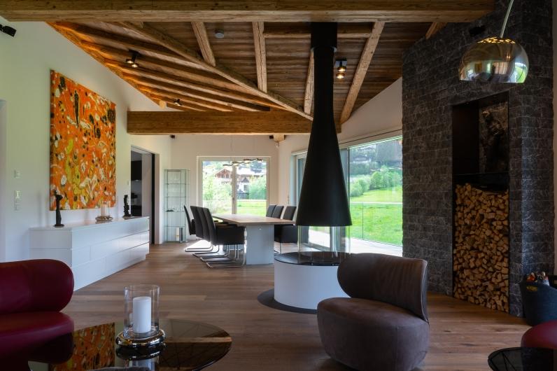 Küche Wohn-Essbereich Interior Design modern Innenarchitektur