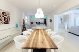 Essbereich Küche Interior Design modern Innenarchitektur