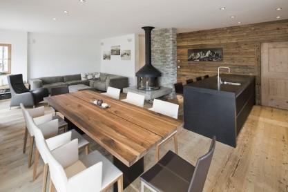 Wohn-Essbereich Interior Design modern Innenarchitektur Einfamilienhaus