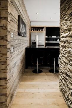 Küche Bar Interior Design modern Innenarchitektur Einfamilienhaus