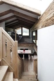 Sichtdachstuhl Interior Design modern Innenarchitektur Einfamilienhaus