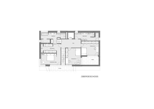 Grundriss Interior Design modern Innenarchitektur Einfamilienhaus